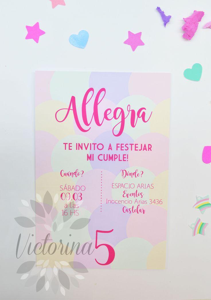 Invitacion ''Allegra''