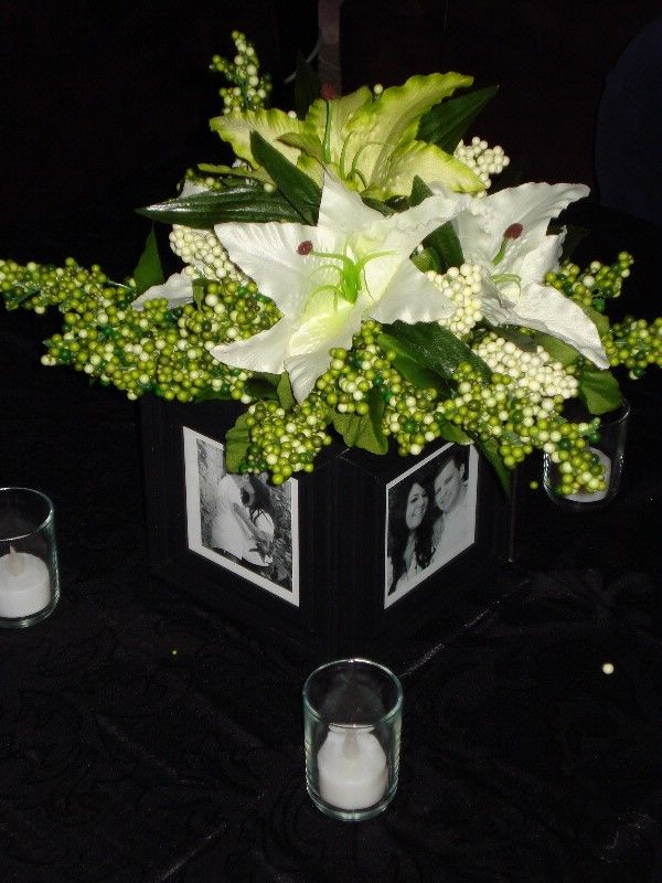 Best centerpieces without flowers images on pinterest