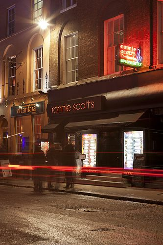 Ronnie Scotts - performed here on 4th June ,such a great venue.