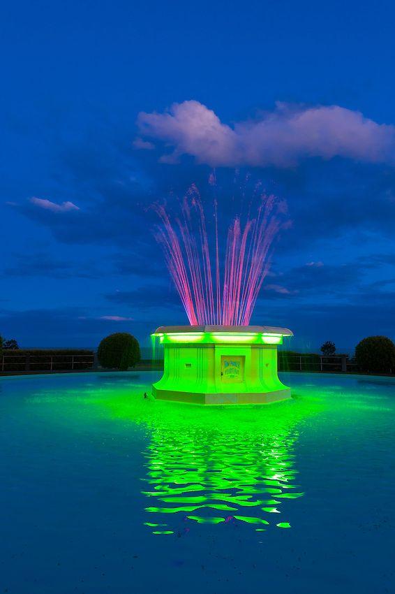 Tom Parker Fountain (art deco), Napier, Hawkes Bay, North Island, New Zealand