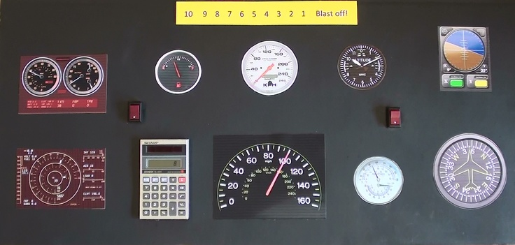 space shuttle gauges - photo #9
