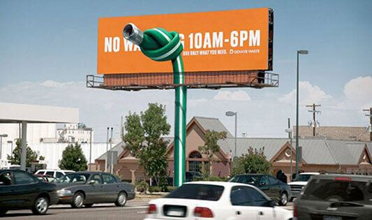 Go for Billboard printing to attract potential customers and create an image of the company.