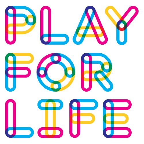Play for Life identity & typography