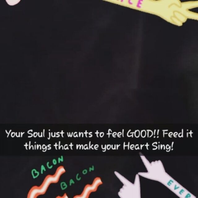 "Your Soul needs to be nourished and cared for just like your body needs to be nourished and cared for. You can top up your spiritual 'fuel tanks' by doing things that make you feel energised and joyfully alive; whether that may be dancing,singing,walking the dog or just reading a good book, if it it makes your heart say 'Aaahhhh, this is the life!"" Then you're doing it right!! 👄✌"