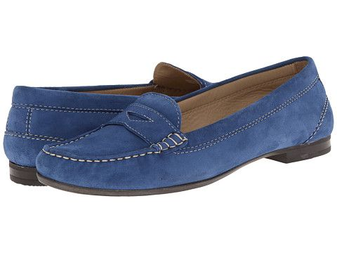 ECCO Tonder Penny Loafer Mazarine Blue - Zappos.com Free Shipping BOTH Ways