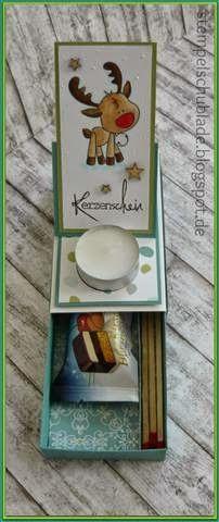 danisstempelschublade: Weihnachts-Easelbox-Karte!