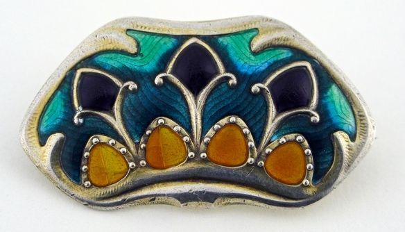 Art Nouveau, 1920 Jacob Tostrup, Norway  https://espritjoaillerie.files.wordpress.com/2015/09/jacob-tostrup.jpeg