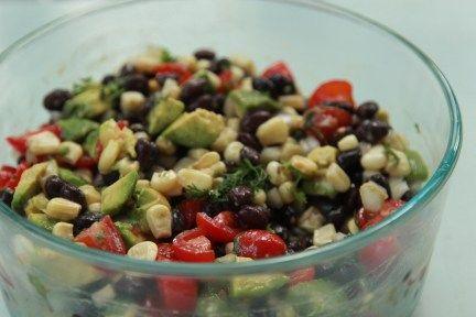 Black Bean Salad - Yummy Lil' Things