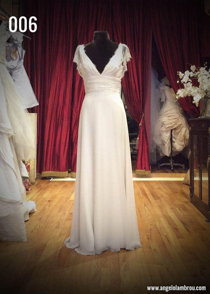 Sneak Peek 006: The New Wedding Dress by Angelo Lambrou (1 of 12 new designs). See the full collection, all under $2000: www.angelolambrou... #thenewweddingdress #offbeatbride #brooklynbride #alternativebride #weddinggown #weddingdress #bridal #wedding #laceweddinggown