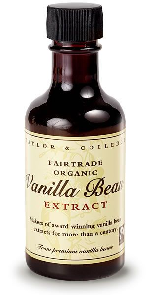 Taylor & Colledge - Fairtrade Organic Vanilla Bean Extract.   Check this and heaps more #Fairtrade products out here: http://fairtrade.org.nz/en-nz/buying-fairtrade-products