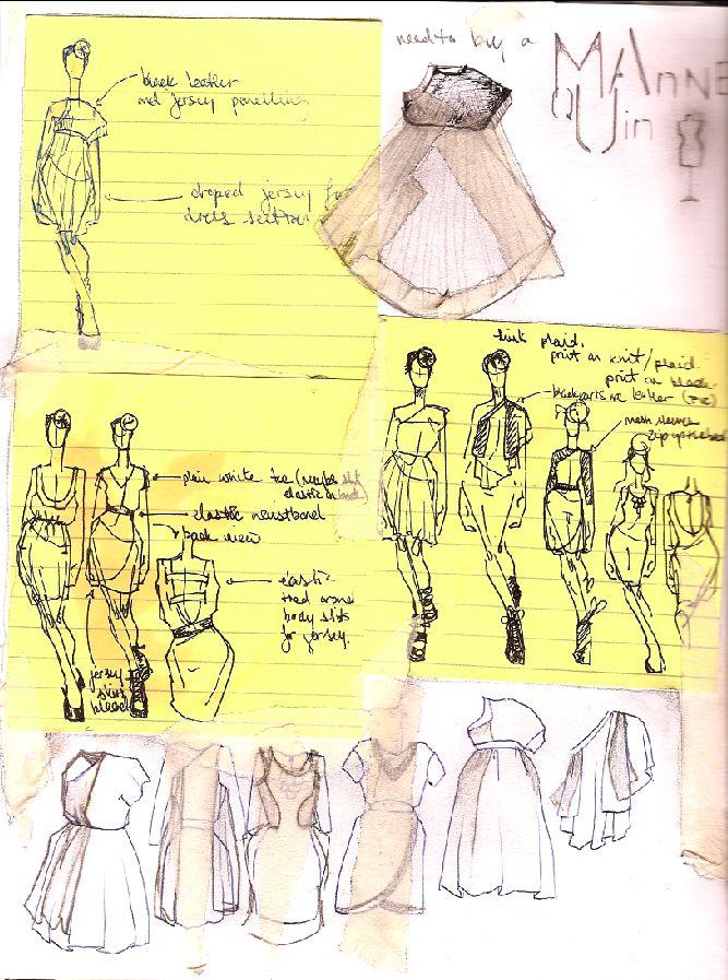 Fashion sketching inspiration