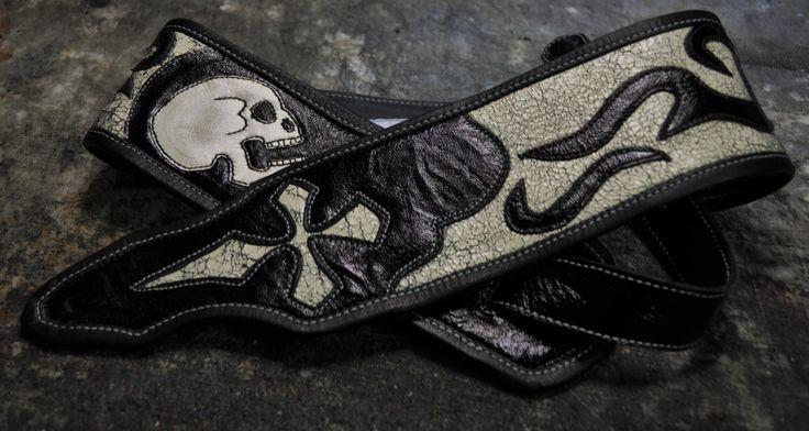 Guitar Strap Skull
