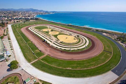 Today's full-resolution version of last month's cover photo is another gem from our good friend, Pierre Behar. This gorgeous shot is of the Hippodrome de la Côte d'Azur in Cagnes-sur-Mer. Enjoy!