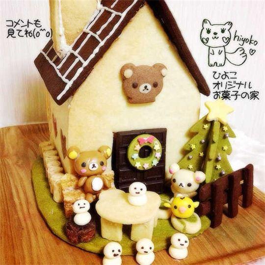 Rilakkuma Christmas Gingerbread House