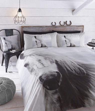 Pościel Beautiful Horse #bedding #textiles #home #inspiration #dream #pillow #cases #sypialnia #bedroom