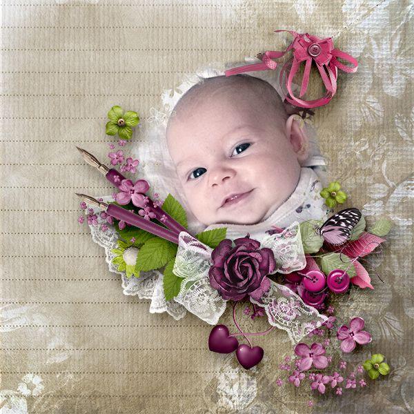 New mini kit *Flowery Sense* by Lily Fee http://digital-crea.fr/shop/index.php…