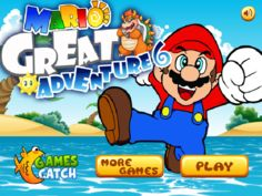 Mario Great Adventure 6 Game - Play Free Games Online or Download
