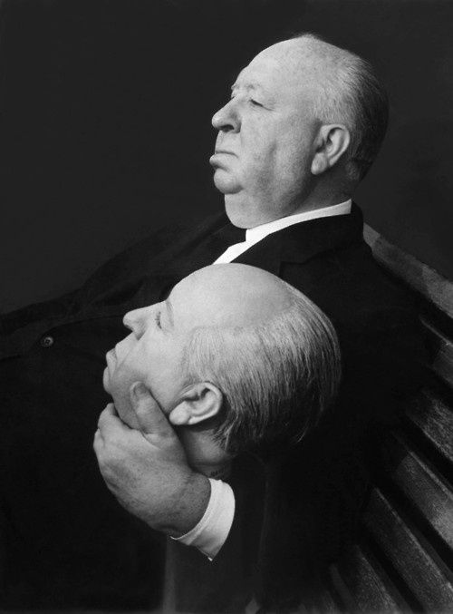 """keyframedaily: """"Alfred Hitchcock, August 13, 1899 - April 29, 1980. """""""