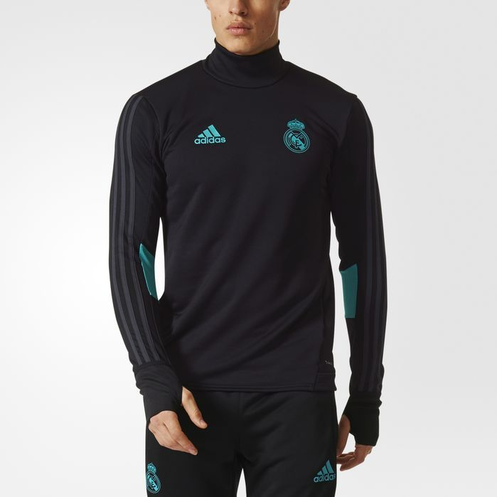 adidas Real Madrid Training Top - Mens Soccer Long Sleeve Shirts