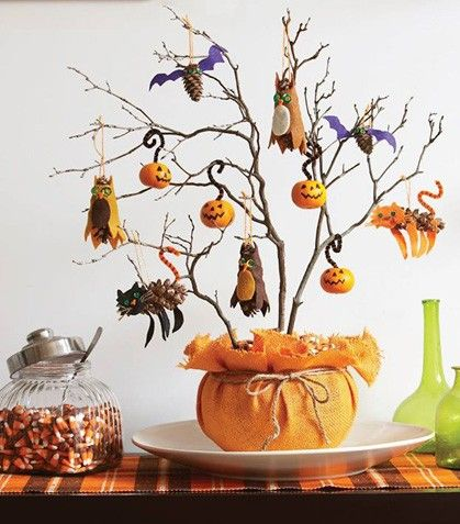 ¡Prepara tu propio adorno para Halloween!