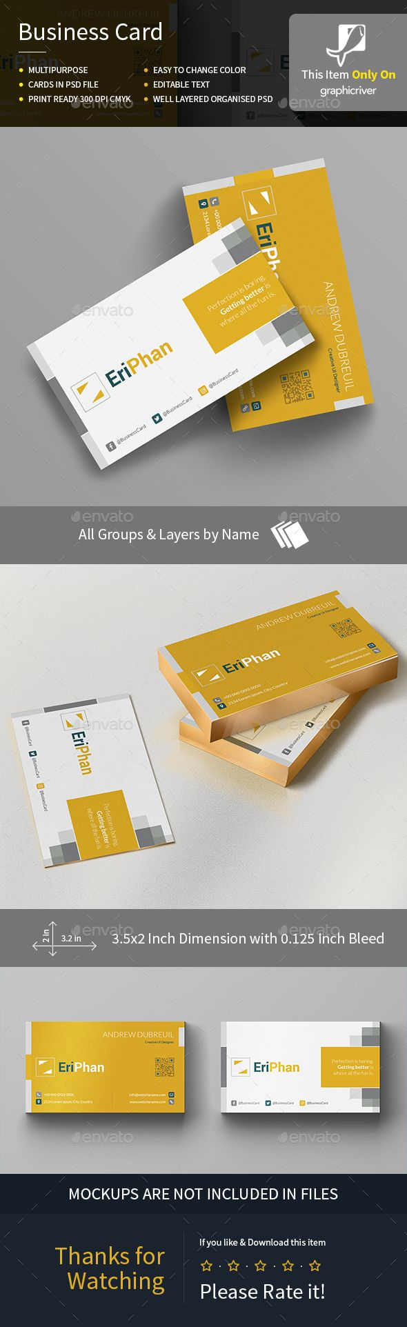 29 best business card design ispiration images on pinterest eriphan business card magicingreecefo Image collections
