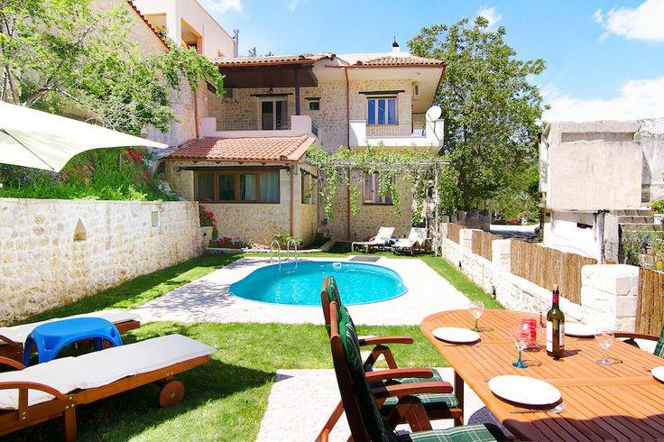 Alexander Villa in Goulediana, Rethymno, Crete - Greece