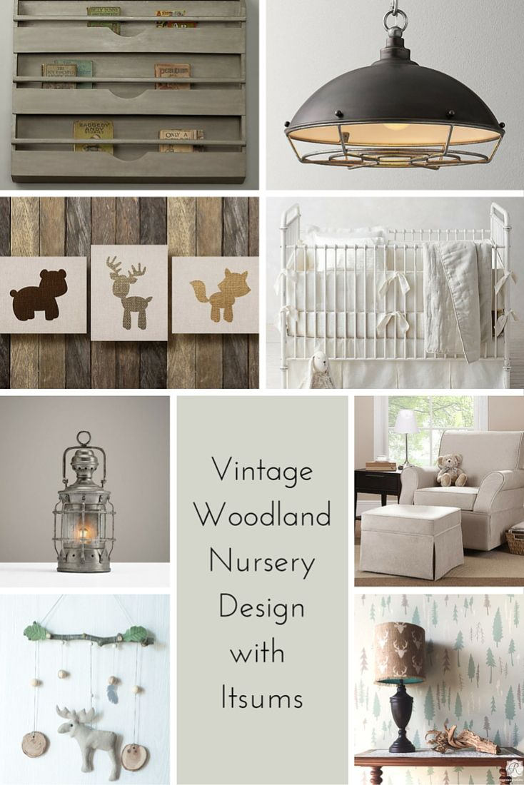 Vintage Woodland Nursery Design