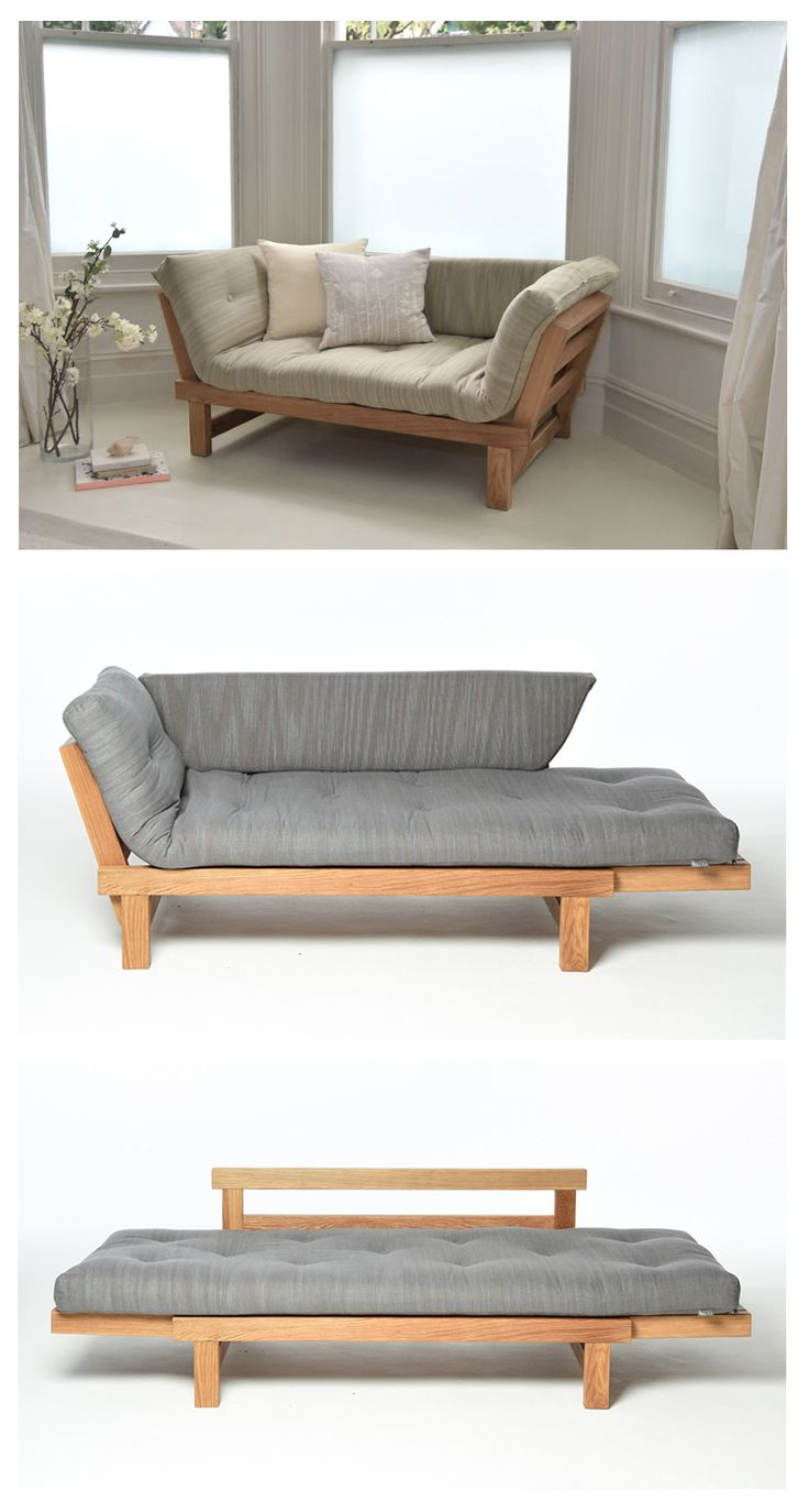 Wave chaise bed price - Move Into Your Comfort Zone With Our Space Saving Oak Switch Sofa Bed Which Offers Three