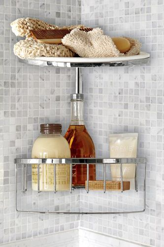 How To Organize Beauty Products   Bathroom Organization. Corner Shower CaddyCorner  ...