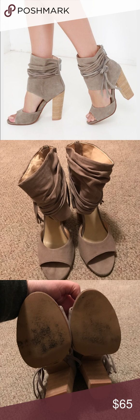 ⚡️ONE HOUR FLASH SALE⚡️RE POSH Kristin Cavallari Kristin Cavallari for Chinese Laundry. I love these heels, but they are slightly too small for me. 😩 feel free to make me an offer! They have a little bit of wear in the toe area. See picture. I'm sure some super glue could fix it. Good condition. Chinese Laundry Shoes Heels