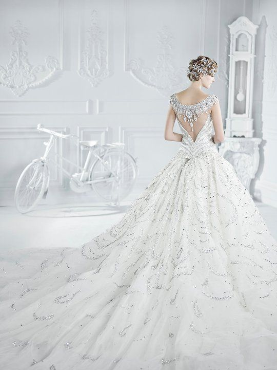 This wedding gown is to die for