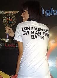 Agnes Monica benar benar melecehkan Batik Indonesia | Kaskus - The Largest Indonesian Community