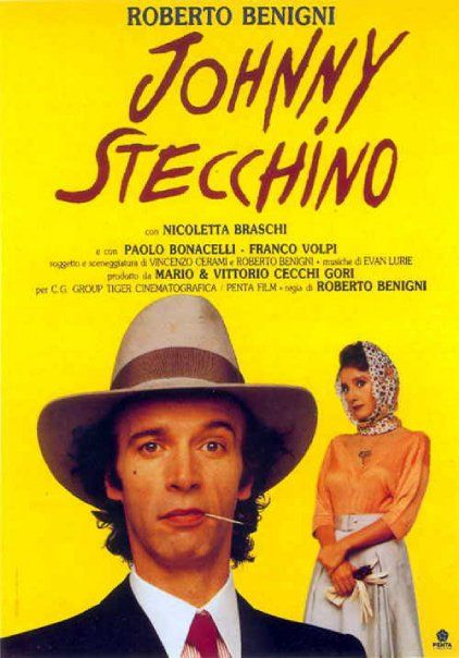 Italian Movies ~ #movies #film #director #Italianmovies #cinema ~ #Johnny #Stecchino - #Benigni. 1991