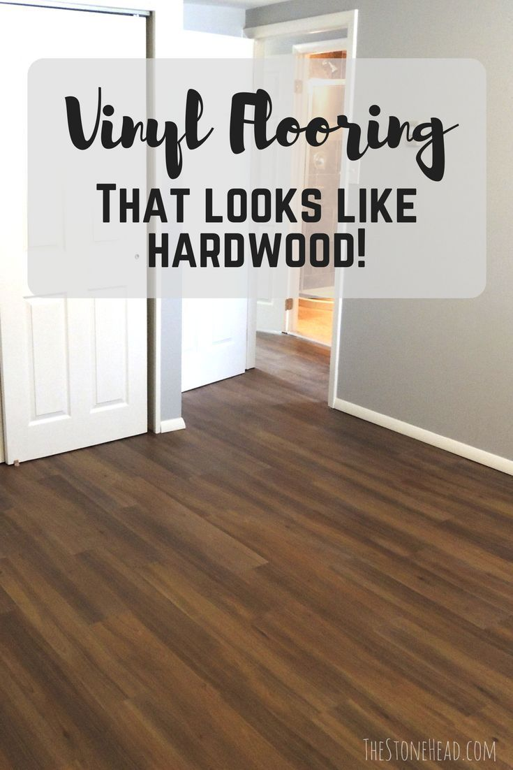 Vinyl Plank Flooring Tutorial No Nails No Glue The Stone Head Vinyl Plank Flooring Flooring Flooring Tutorials