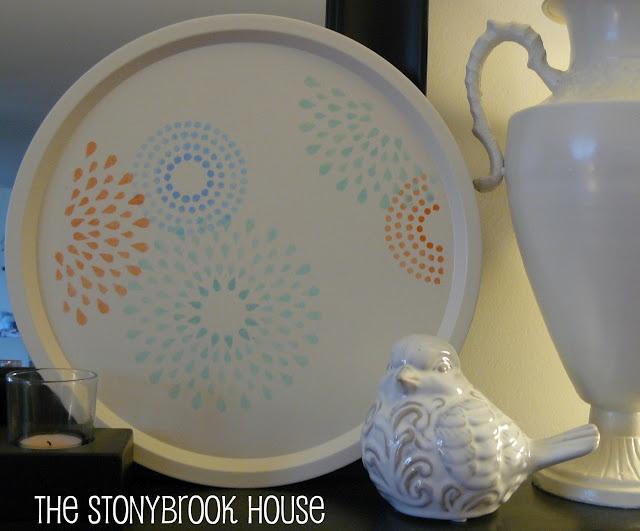 Would make a cute tray  #DIY #craft