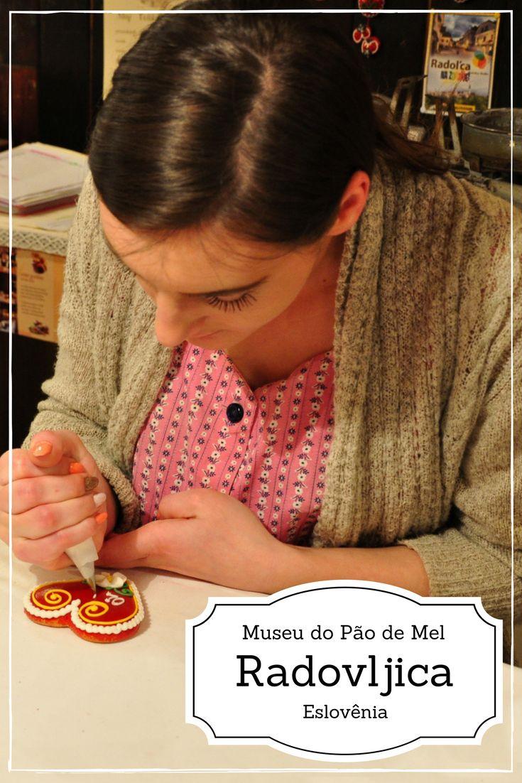 Conhecemos o Museu do Pão de Mel na cidade de Radovljica na Eslovênia próxima a cidade e lago de Bled.