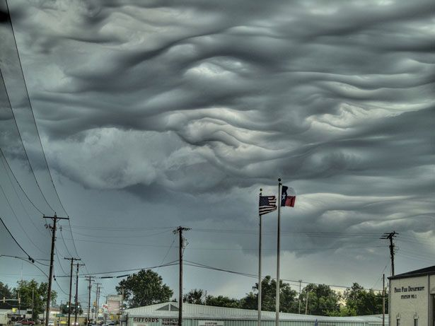 strange/cool clouds