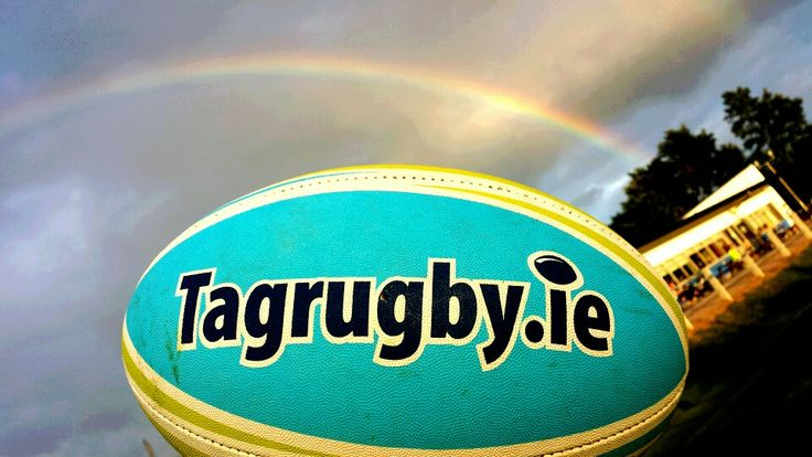 A rainbow over Tag rugby