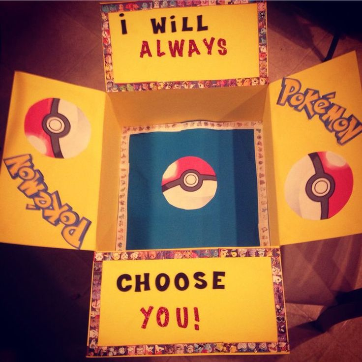 I choose you Pokemon military care package