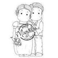Loving Bridal Couple
