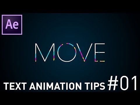 AfterEffectsを使ったテキストアニメーションの作り方 Tips#01 After Effects Tutorial - YouTube
