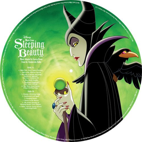 Songs From: Sleeping Beauty Soundtrack on Limited Edition LP Picture Disc August 26 2016