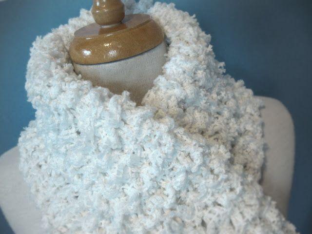 Tricoter un rideau de dentelle récupéré ou comment s'amuser à tricoter du…