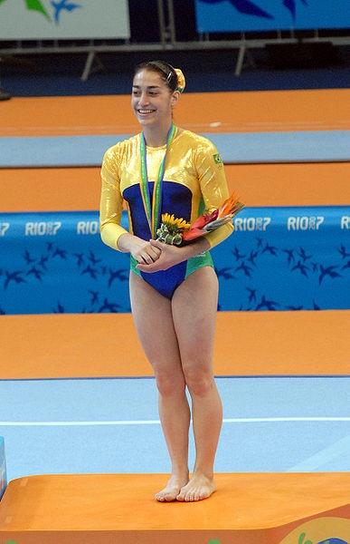 Daniele fez parte da equipe brasileira que conquistou a inédita oitava colocação nos Jogos Olímpicos de Pequim, em 2008, na China. Entre seus principais arquivamentos na carreira estão a primeira medalha mundial conquistada por uma brasileira, feito este atingido na edição de 2001, e os múltiplos pódios em edições dos Jogos Pan-americanos. Como premiações, foi por duas vezes seguidas (2001/02) eleita a melhor atleta brasileira. Daniele é ainda irmã do também ginasta Diego Hypólito.