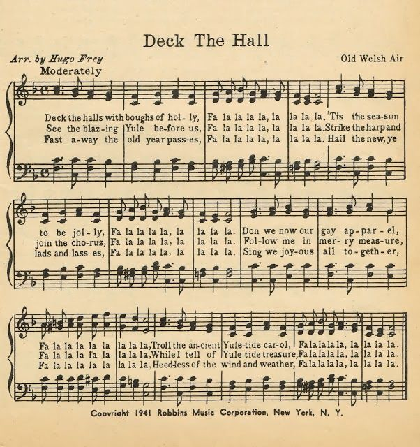 FREE Printable Christmas Music Pages ~~~via KnickofTime.net
