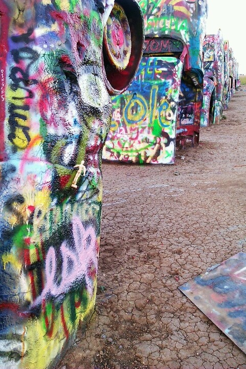 Cadillac Ranch - ESK Forever