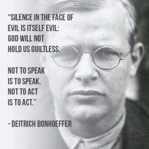 Dietrich Bonhoeffer quotes Bonhoeffer quotes, Dietrich