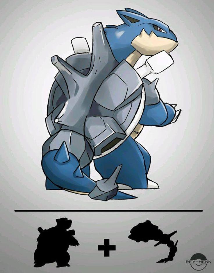 Tortank Steelix Pokem 243 N Pinterest Caricaturas