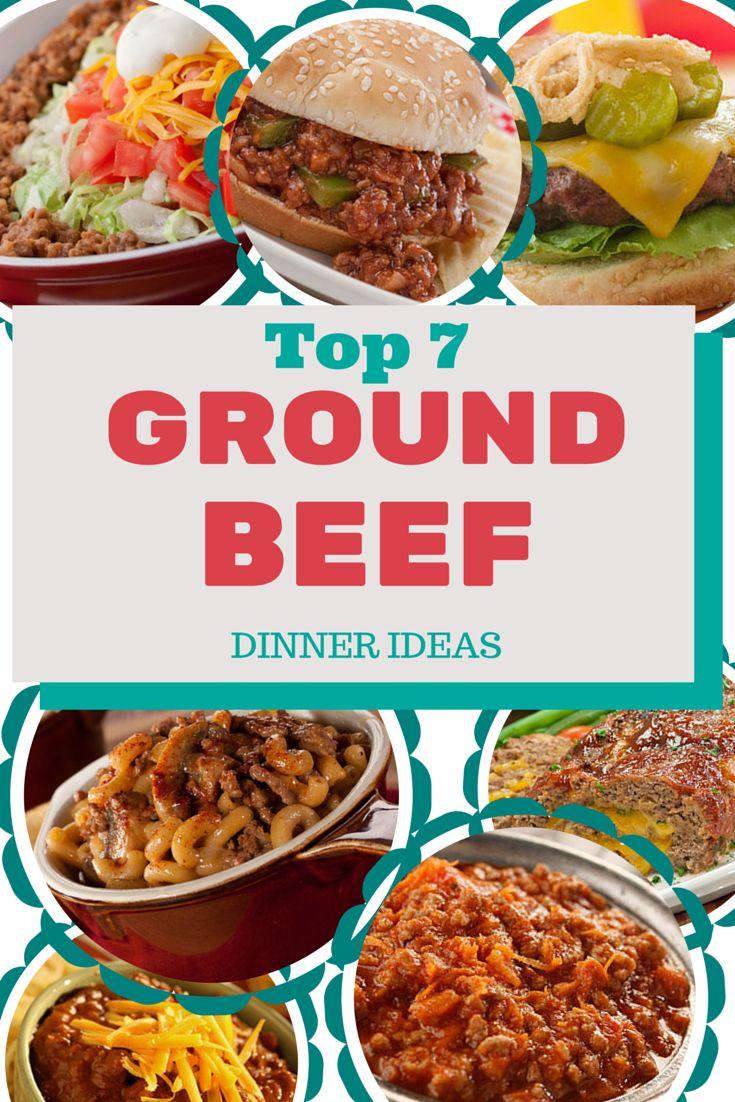 13 Best Ground Beef Images On Pinterest Hamburger