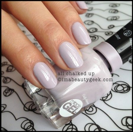 Sally Hansen Miracle Gel All Chalked Up. ©imabeautygeek.com
